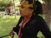 Peruanita en el parque follando con amigo caliente