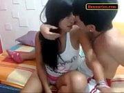 Peruana haciendolen video casero con su novio