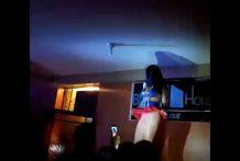 Bailarina de la Universidad Andina de Cusco